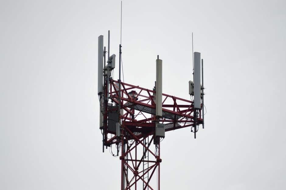 Antennes op toren